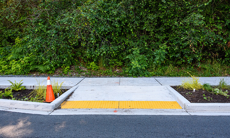 How To Build A Curb Ramp - A DIY Guide