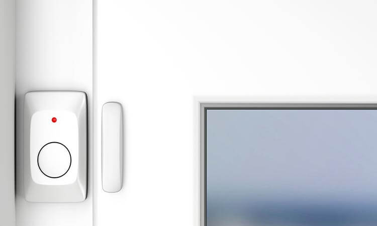 homesecuritystore How To Change The Battery Of A Window Alarm Sensor