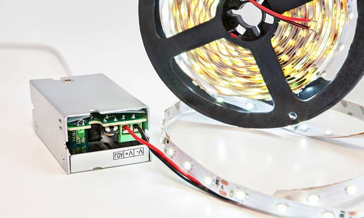 How To Connect LED Strip Lights To Power Supply