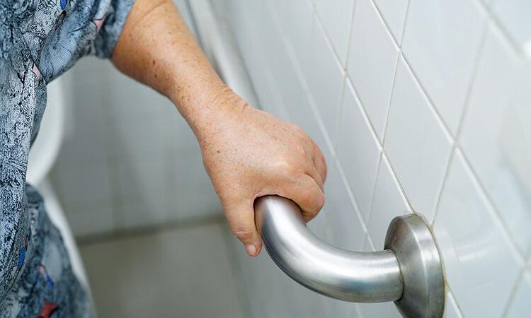 How To Install A Grab Bar In A Fiberglass Shower