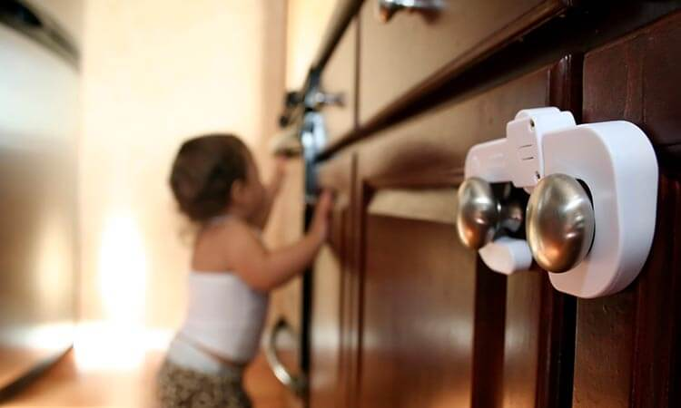 How To Install Child Cabinet Locks For Child Safety