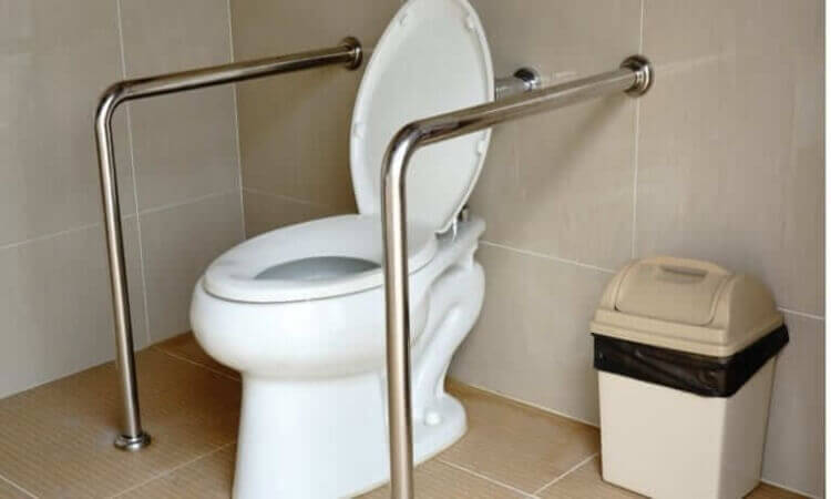 How To Install Handicap Toilet Grab Bars Easily