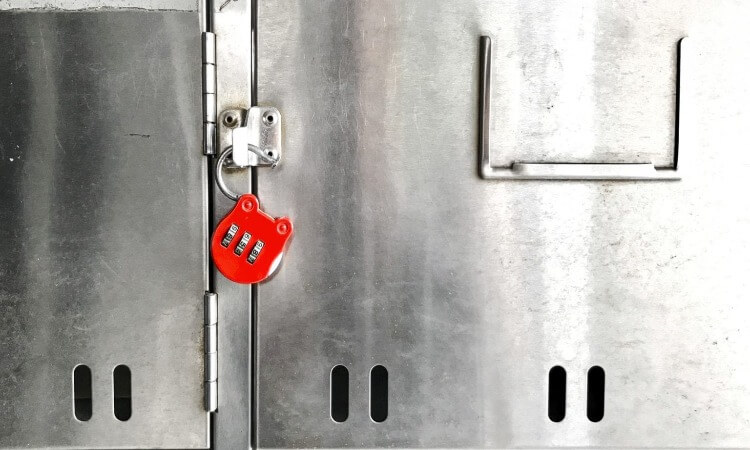 How To Open An Old Mailbox Combination Lock
