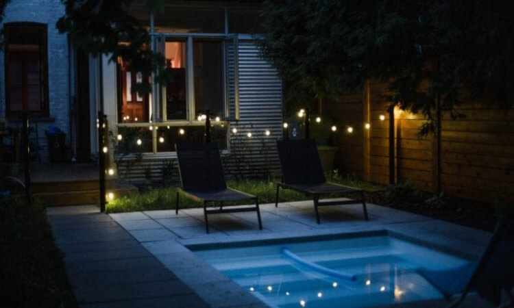 How To Secure String Lights Outdoors