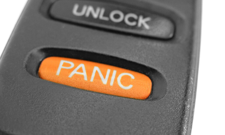 How To Stop A Panic Button On A Car